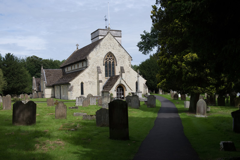 Image of Betchworth Church - colour